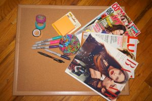 Vision board supplies