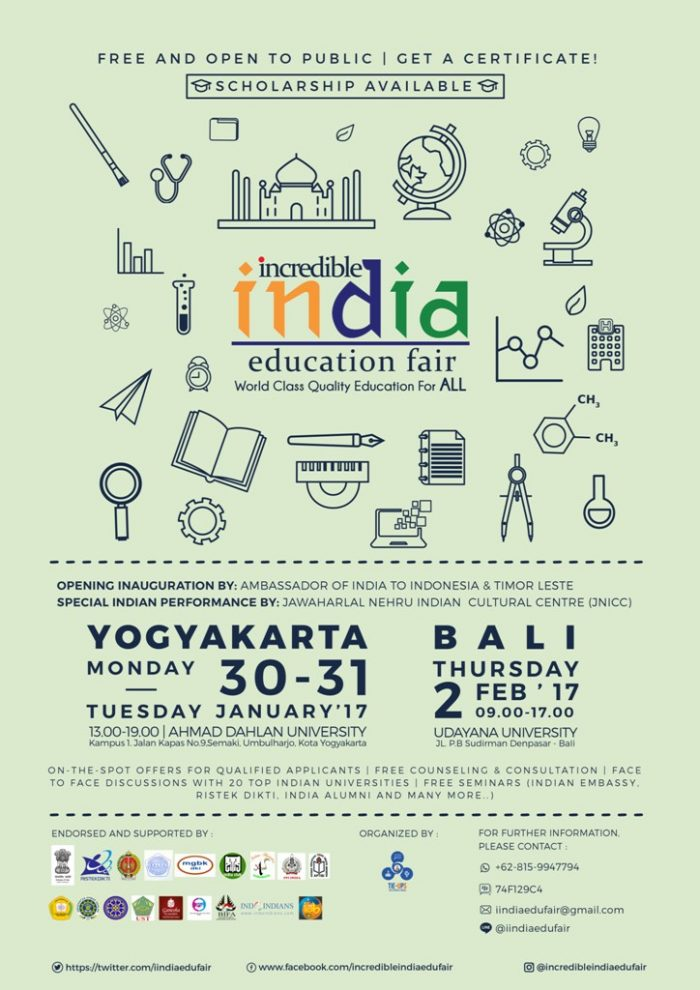 Incredible India Education Fair 2017 (IIEF2017)