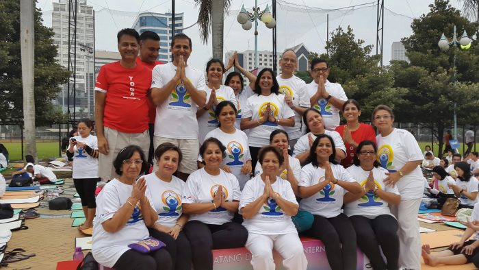 International Day of Yoga in Jakarta