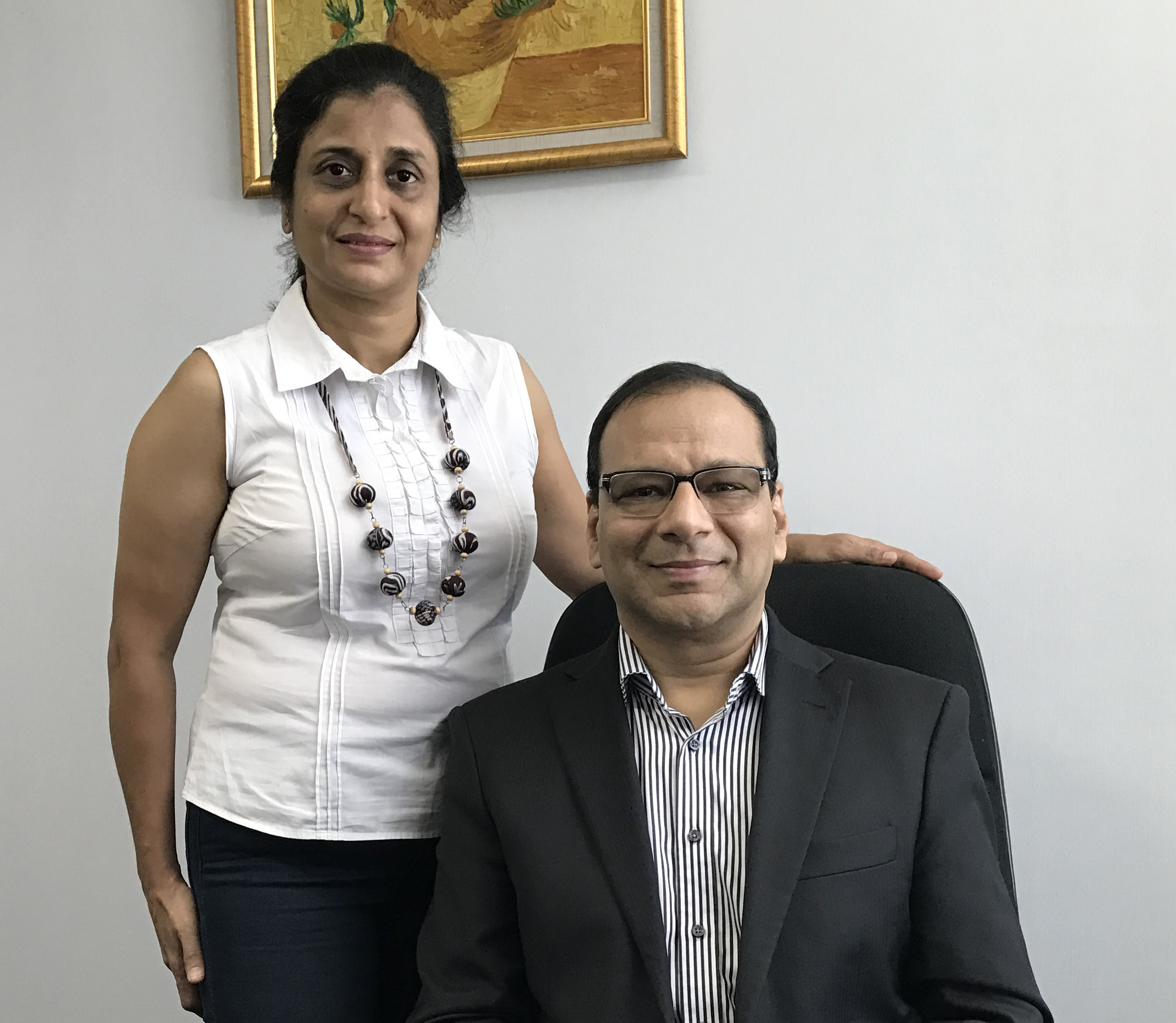 Founders Poonam Sagar and Rajat Sagar