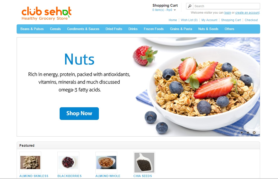 5 Recommended Online Health Food Stores in Indonesia