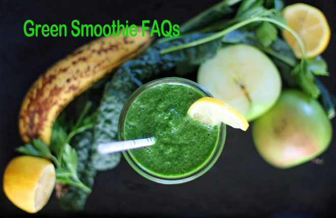 Commonly Asked Questions about the 7 Day Green Smoothie Challenge