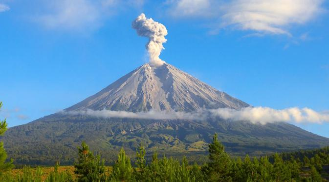 Mystical Stories about Mountains in Java, Indonesia