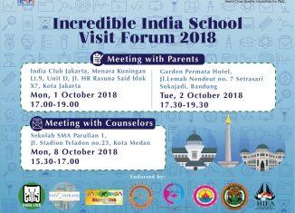 Incredible India School Visit Forum 2018 (IISVF2018)