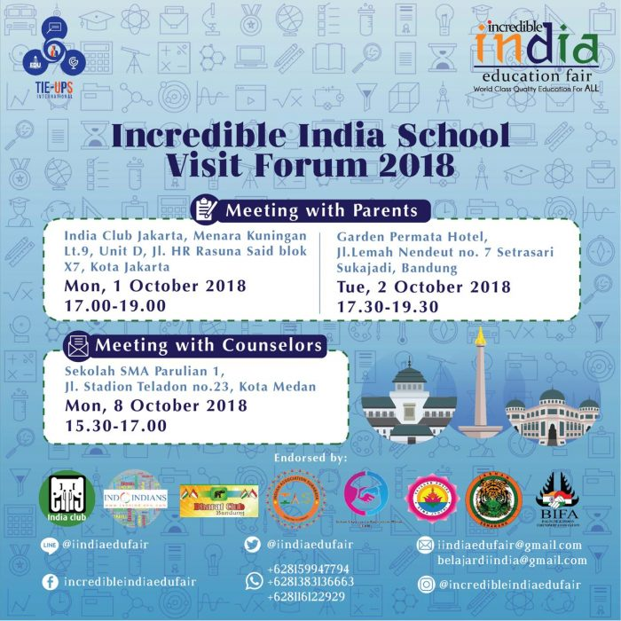 Incredible India School Visit Forum 2018 (IISVF2018)
