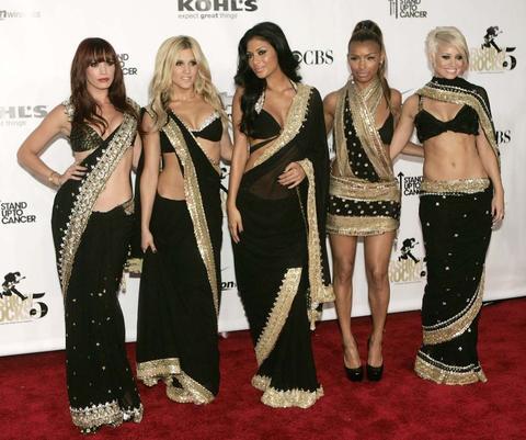 Modern take on the sari