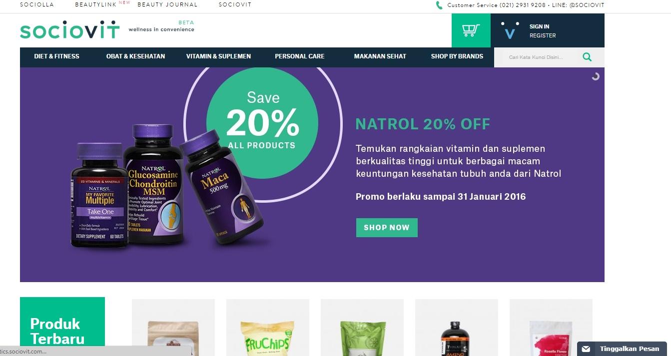 Health foods online store