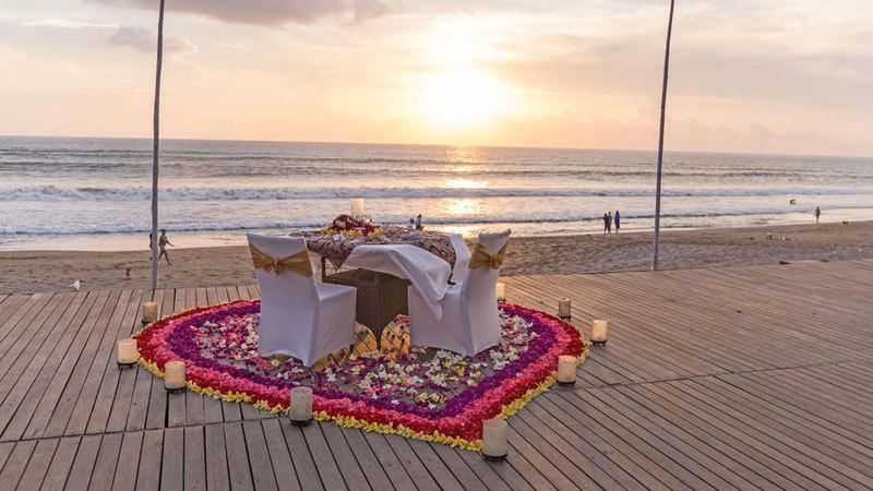 5 Romantic Restaurants in Bali to Celebrate Valentine's Day