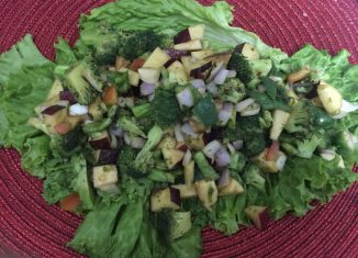 Broccoli Apple Fusion Salad Recipe