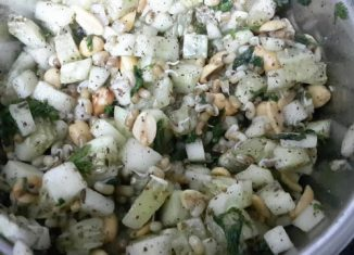 Healthy Cucumber Peanut Salad Recipe