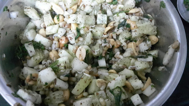 Healthy Cucumber Peanut Salad Recipe