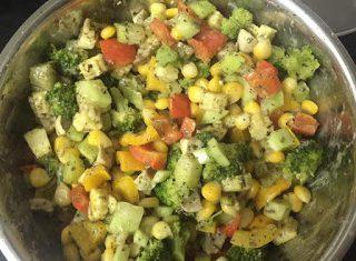 Healthy Italian Weight Loss Salad Recipe