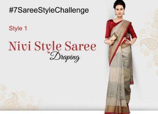 #indoindians #7SareeStyleChallenge #indoindiansSareeStory