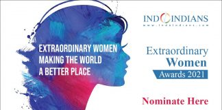 Nominations Open to Indoindians Extraordinary Women Awards 2021