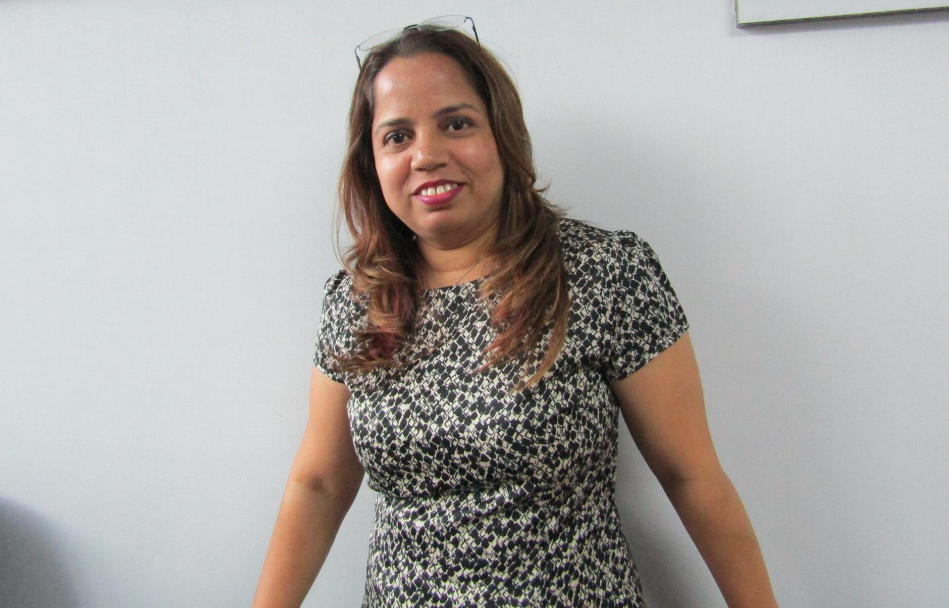 Kavita Javeri, owner of Sparkle Salon and event organizer