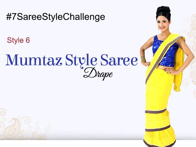 Style 6 Mumtaz Saree Draping
