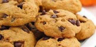 #PaleoDesserts: Grain-free Pumpkin Chocolate Chip Cookies Recipe