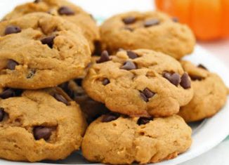 #PaleoDesserts: Grain-free Pumpkin Chocolate Chip Cookies Recipe