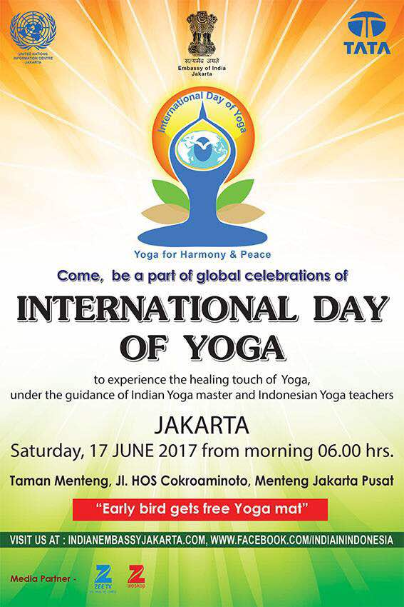 International Day of Yoga 2017 in Jakarta