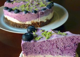 Blueberry Lime Cheesecake Recipe