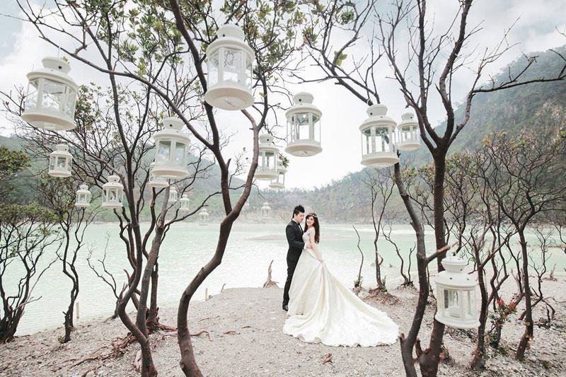 8 Beautiful Pre-wedding Photoshoot Locations in Indonesia
