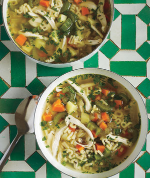Make Ahead Recipe: Lemon Chicken Noodle Soup