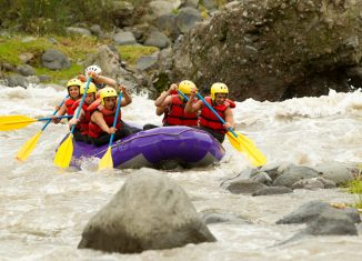7 Scenic and Challenging Whitewater Rafting in Indonesia