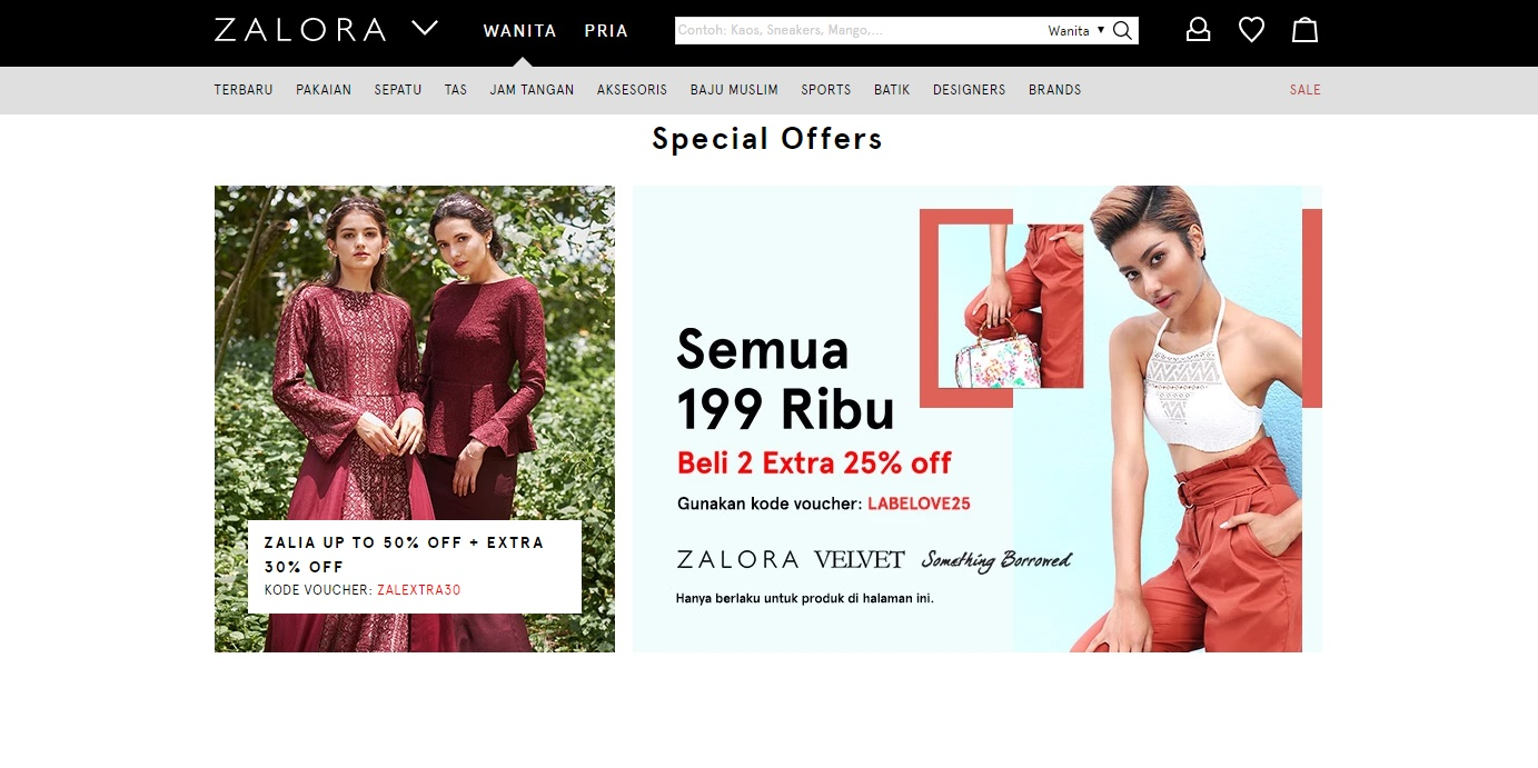 Our List of Favorite Online Fashion Stores in Indonesia