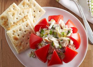 #StuffedVeggies: Tuna-Stuffed Tomatoes Recipe