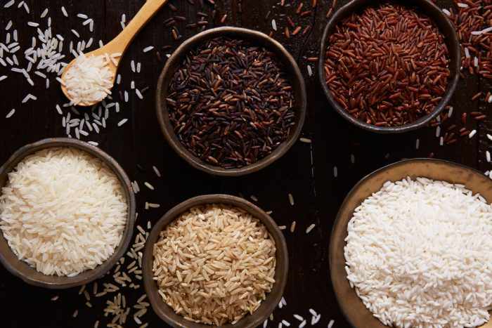 White, Red, Brown, and Black Rice: Which One is the Healthiest?