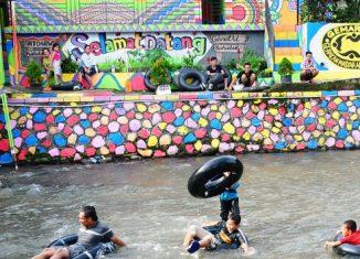 Kampung Warna Warni Katulampa, a New Tourist Attraction in Bogor