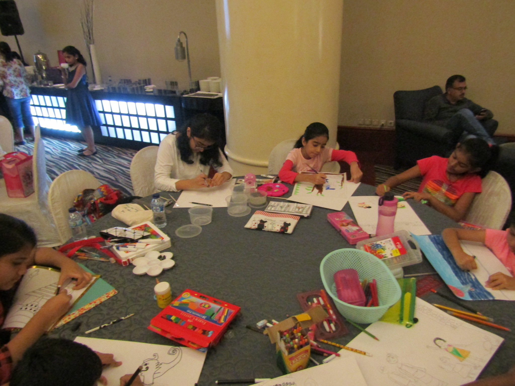 Indoindians – India Club 3rdChildren's Painting Competition Winner