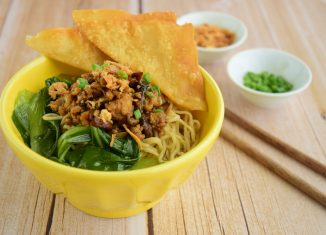 Bakmi Ayam Jamur (Chicken Mushroom Bakmi) Recipe