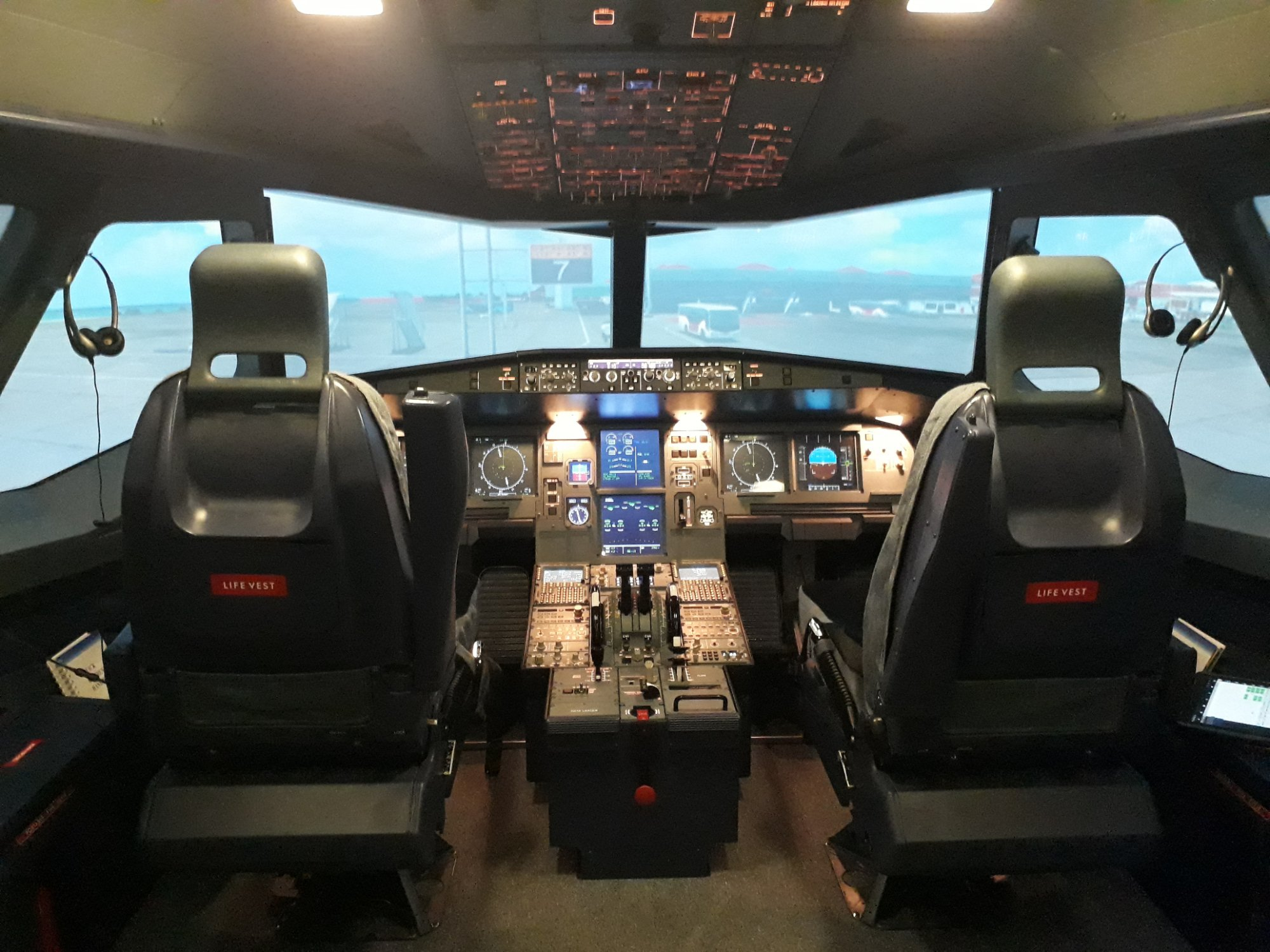 Being a Pilot for a Day at Flight Deck Indonesia - Indoindians