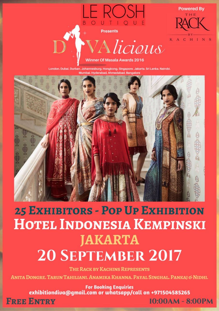 Divalicious pop up fashion and lifestyle Exhibition in Jakarta