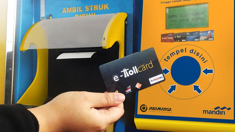 Toll Roads will Only Accept E-Money Starting from October
