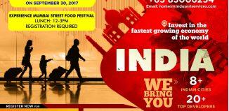 Invest India Property Fair Jakarta, 23-24 September 2017
