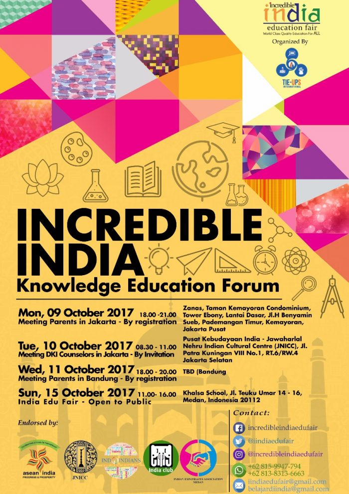 Incredible India Knowledge Education Forum