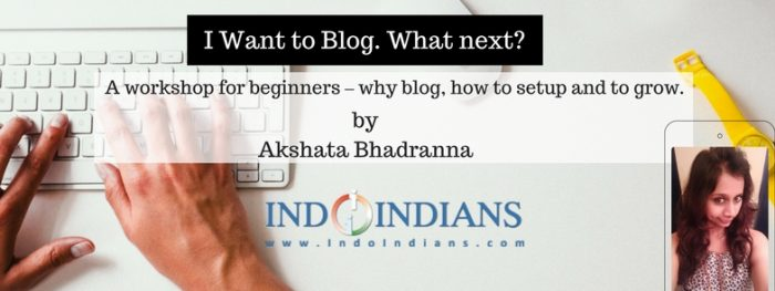 Indoindians Workshop, Profile, and New Articles on Indoindians