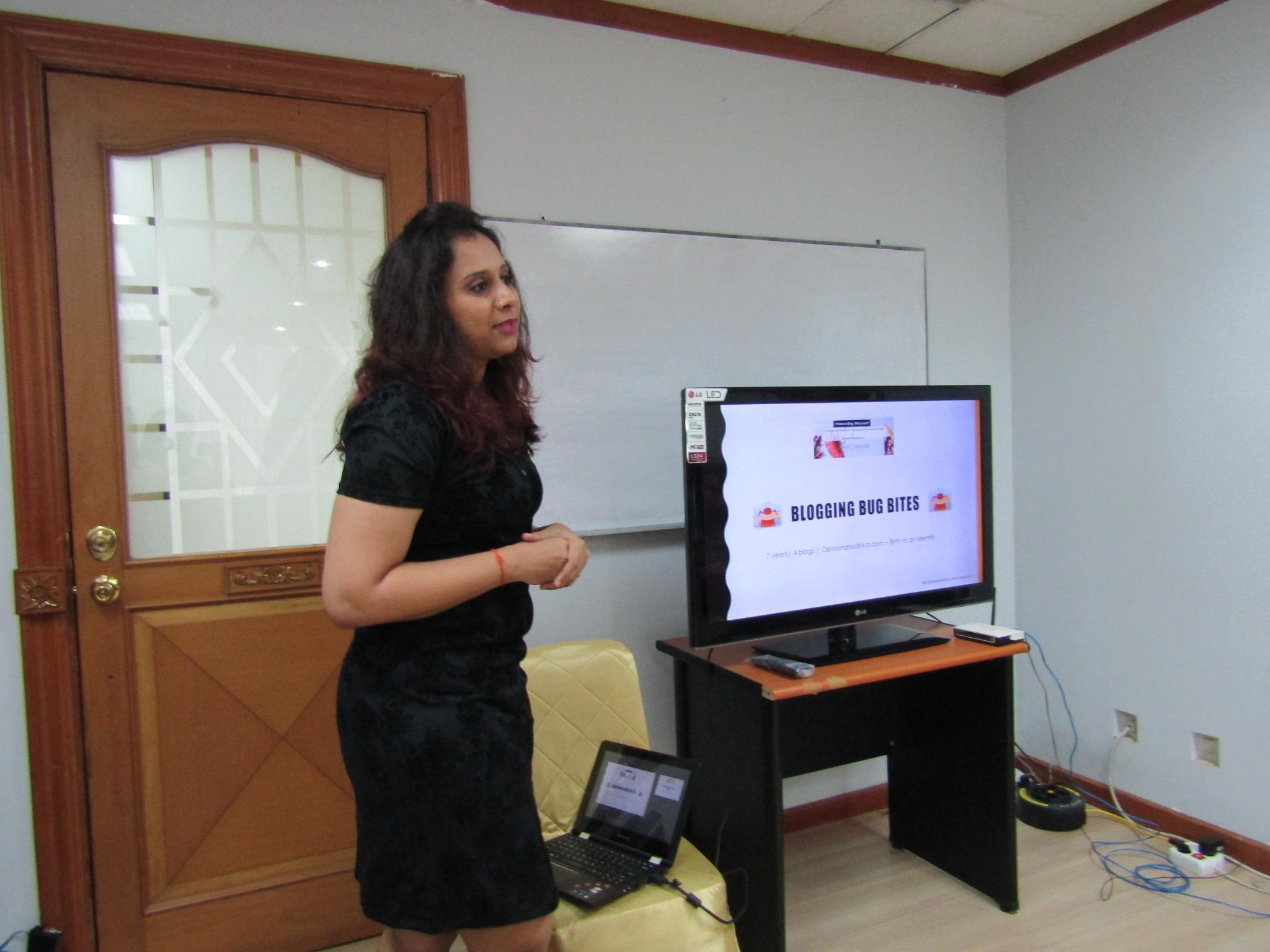 #EventReport: Indoindians Blog Workshop by Akshata Bhadranna