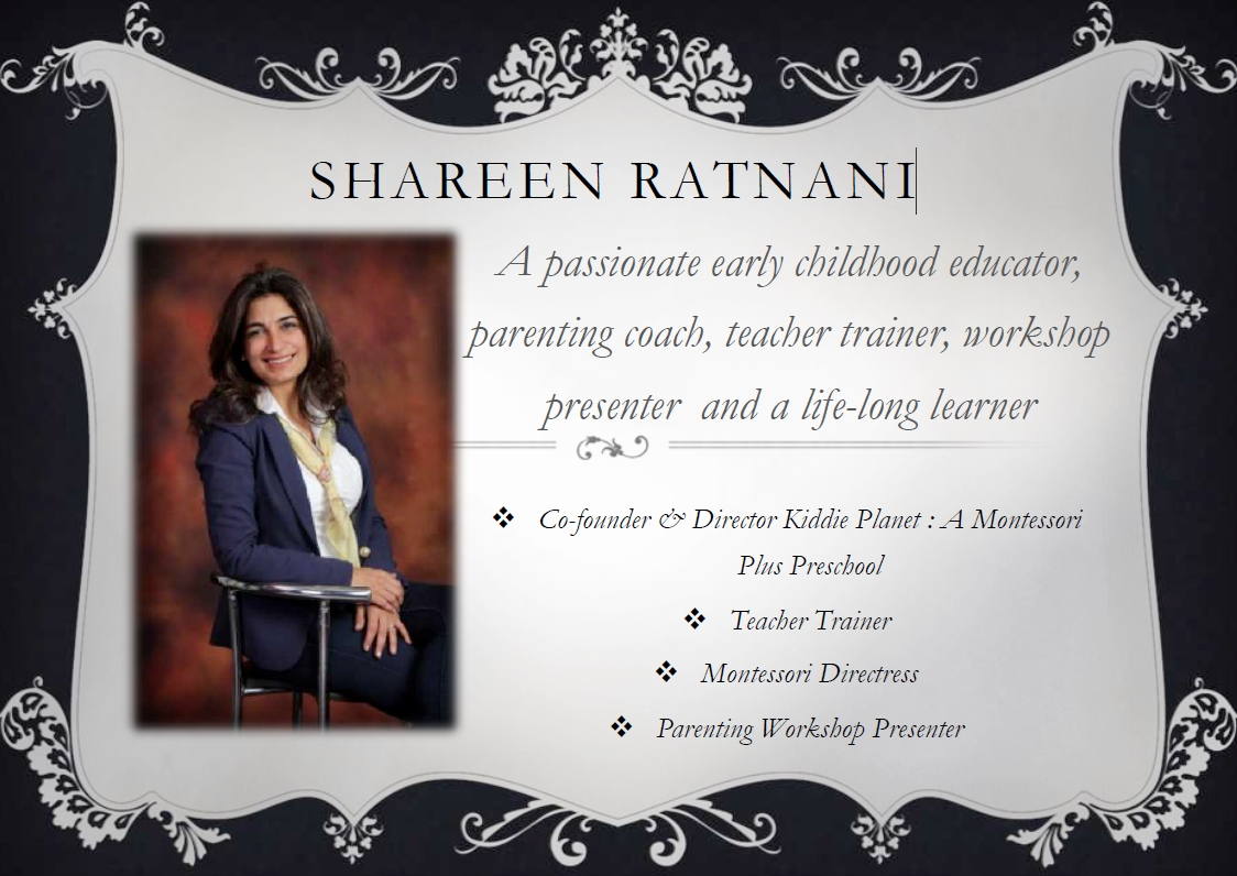 Shareen Ratnani, parenting coach and early childhood educator