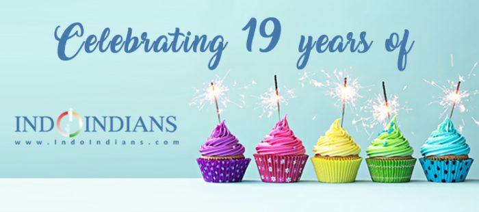 celebrating 19 years of Indoindians