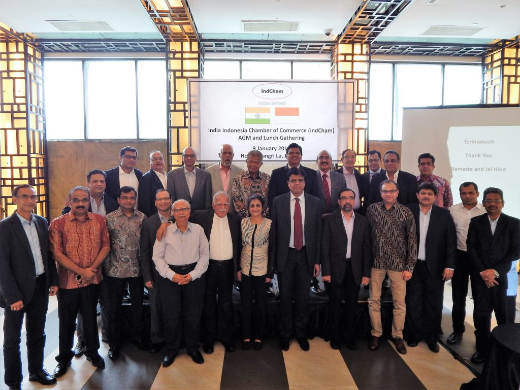 India Indonesia Chamber of Commerce (IndCham) members gathering
