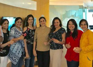 1st Indoindians Ambassadors coffee morning