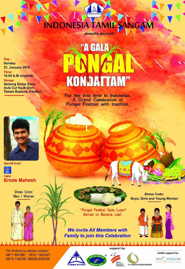 Pongal Celebrations by Indonesia Tamil Sangam