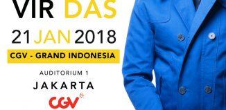 Vir Das Comedy Show in Jakarta