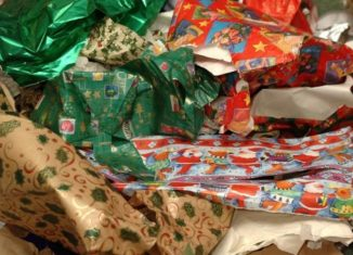 Gift Wrapping Paper reuse