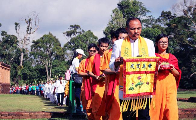 Waisak Celebrations in Indonesia