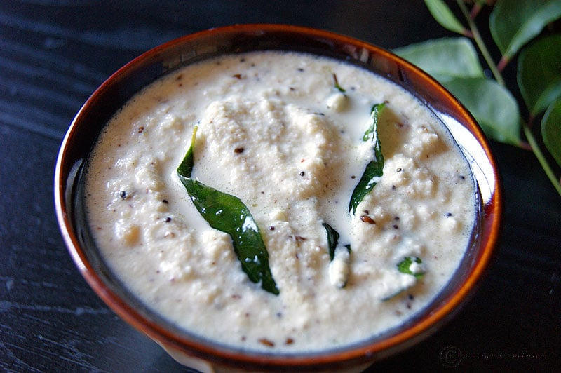 Coconut Chutney recipe by Shanthi Seshadari