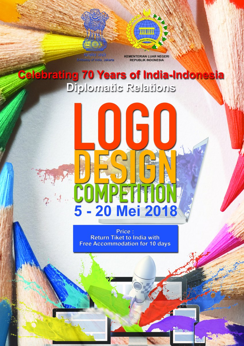 Logo Competition by India and Indonesia to commemorate 70 years of Diplomatic Relations